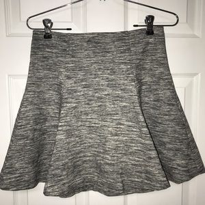 Gap Grey Fit & Flare Skirt